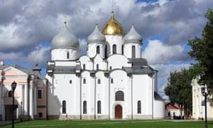 Saint Sophia Cathedral in Velikiy Novgorod
