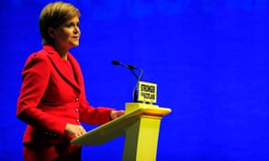 Nicola Sturgeon could announce a push for a second referendum at the forthcoming SNP spring conference.