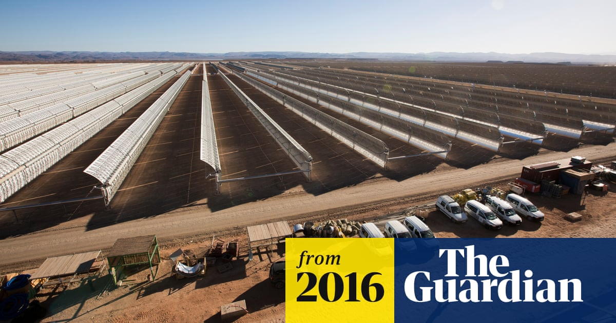 Morocco to switch on first phase of world's largest solar