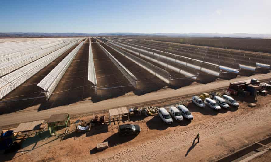 Morocco's vast 9$bn Ouarzazate solar power plant