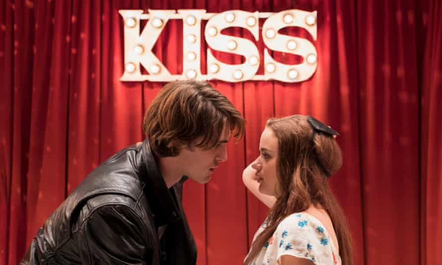 The stars of The Kissing Booth