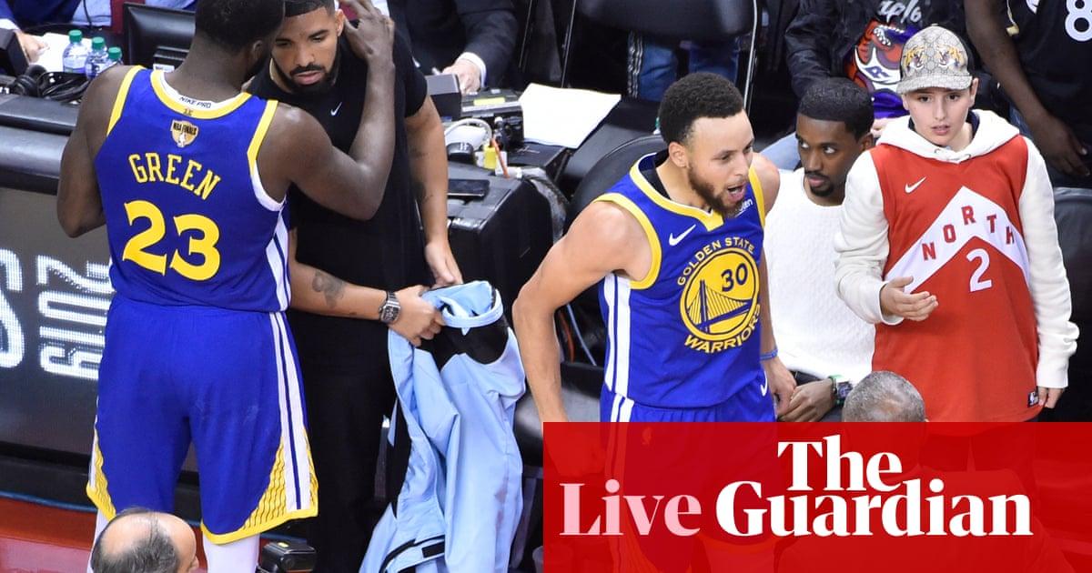 sports shoes 6b1ce 10e30 Golden State Warriors 106-105 Toronto Raptors: NBA finals ...