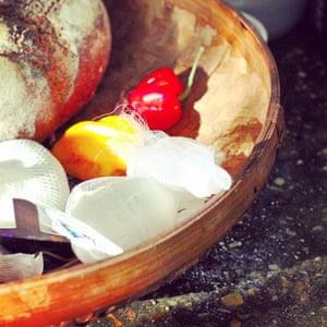 Tom Hunt's house sharing bowl