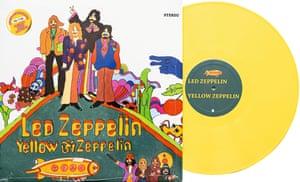 Yellow Zeppelin, Unknown. 1969, Europe
