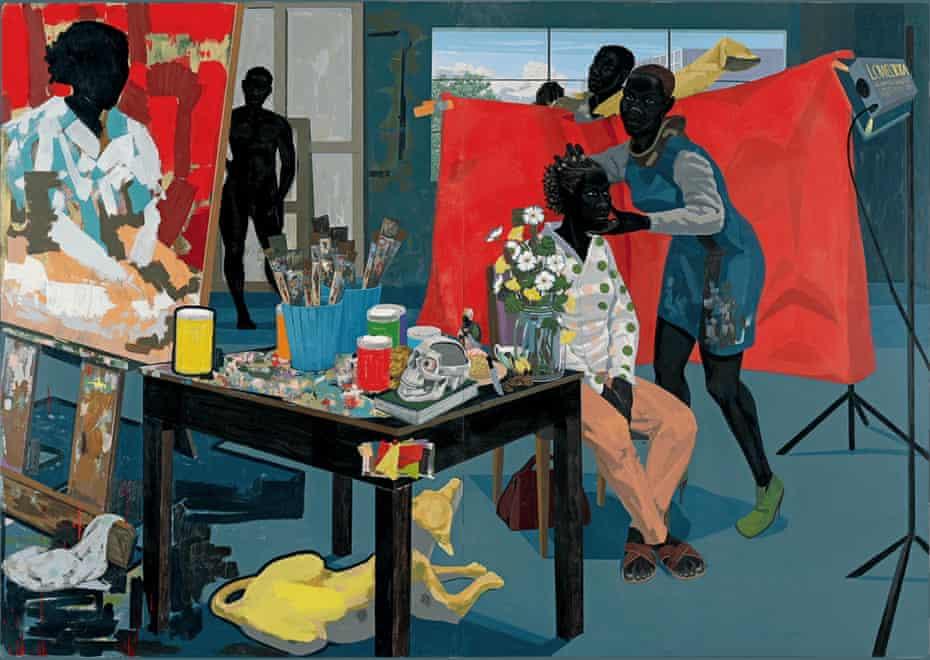 Untitled (Studio), Kerry James Marshall, 2014