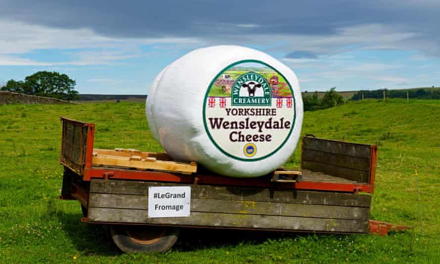 Advertisement for Wensleydale Cheese.