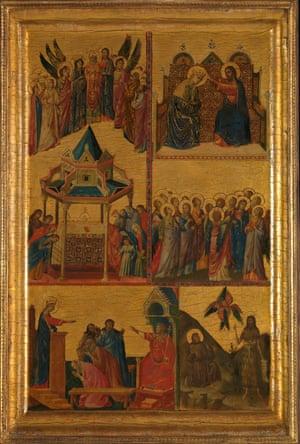 The full painting by Giovanni da Rimini.