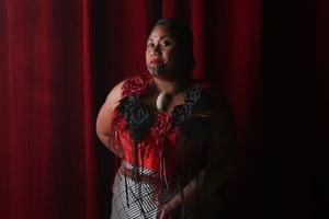 Tongan performer Seini Taumoepeau, AKA SistaNative.