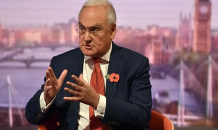 Ofsted chief inspector Sir Michael Wilshaw on the Andrew Marr Show on Sunday.