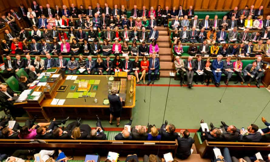 MPs in the House of Commons during prime minister's questions last week.