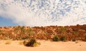 The ruins of ancient Ouadane, Mauritania.