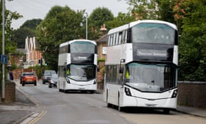 Buses transport workers between Hinkley Point and Bridgwater.
