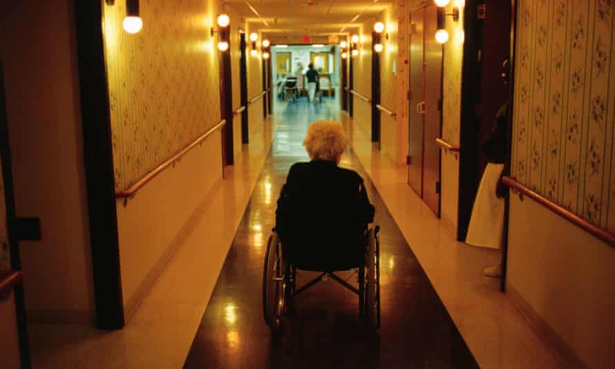 A care home for older people. Four Seasons is shutting UK homes and restructuring under a £512m debt.