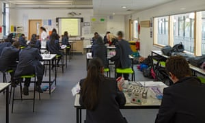 Classroom in London