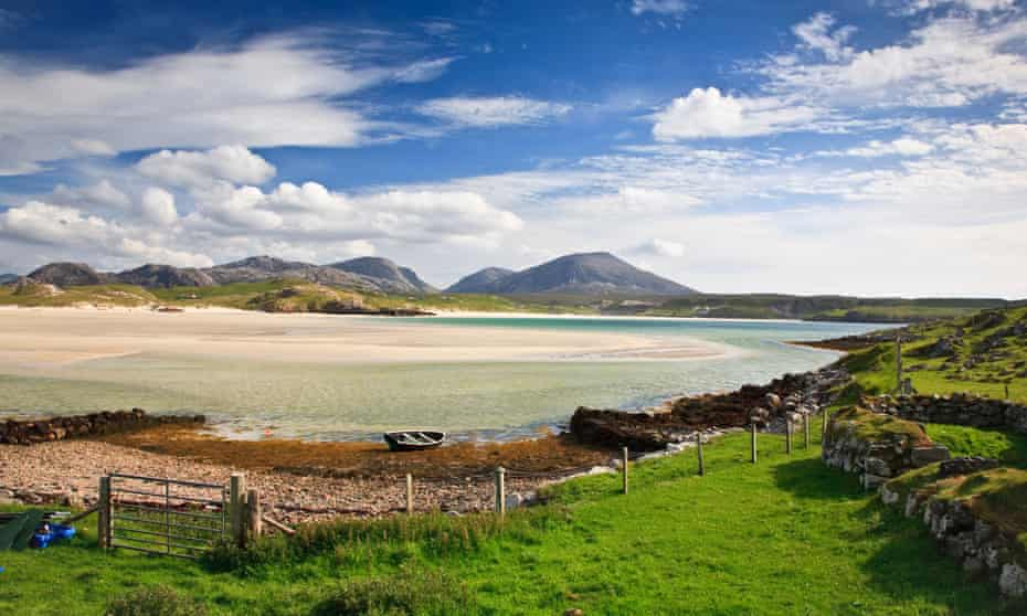 Uig Sands, Isle of Lewis, Outer Hebrides, Western Isles, Scotland. UK.