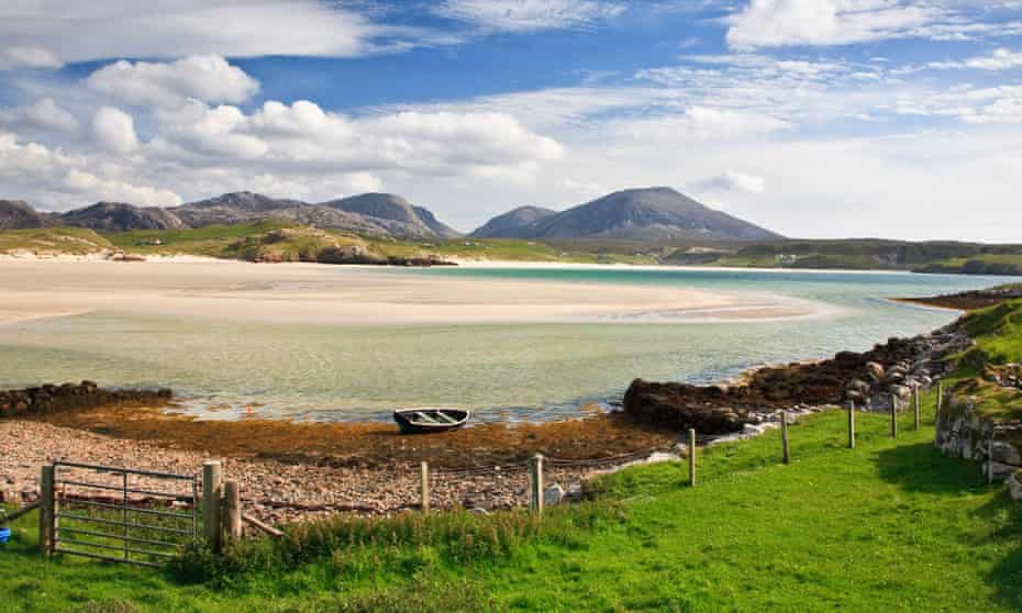 Leave it all … Uig Sands on the Isle of Lewis, Scotland.