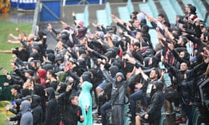 Members of the Red and Black Bloc