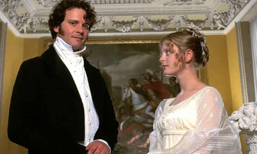 Mr Darcy and sister Georgiana in the BBC TV adaptation of Pride and Prejudice.