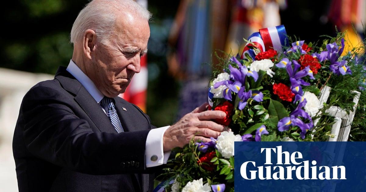 'Democracy itself is in peril': Biden delivers Memorial Day speech – video