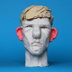Bespoke portraits in plasticine by Wilfrid Wood, £30.