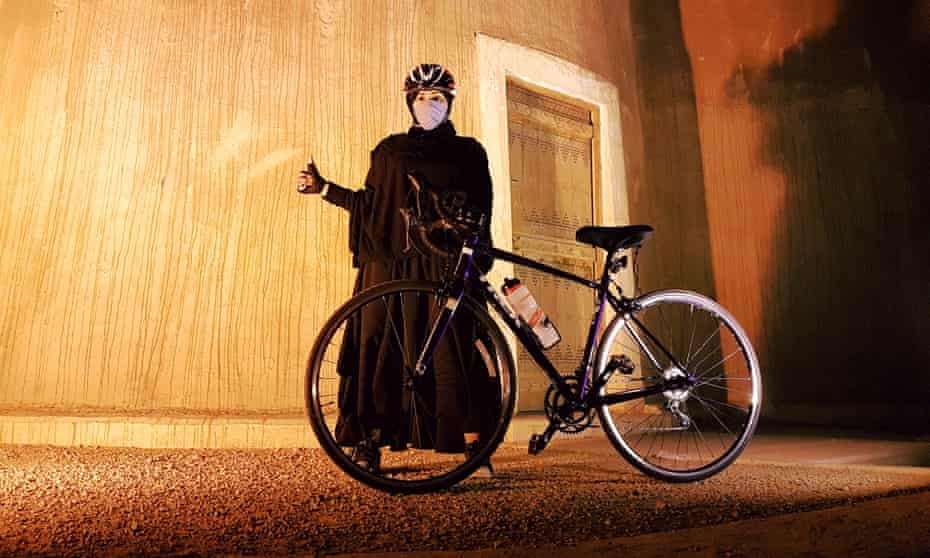 Baraah Luhaid on the road … 'I'll do it myself'