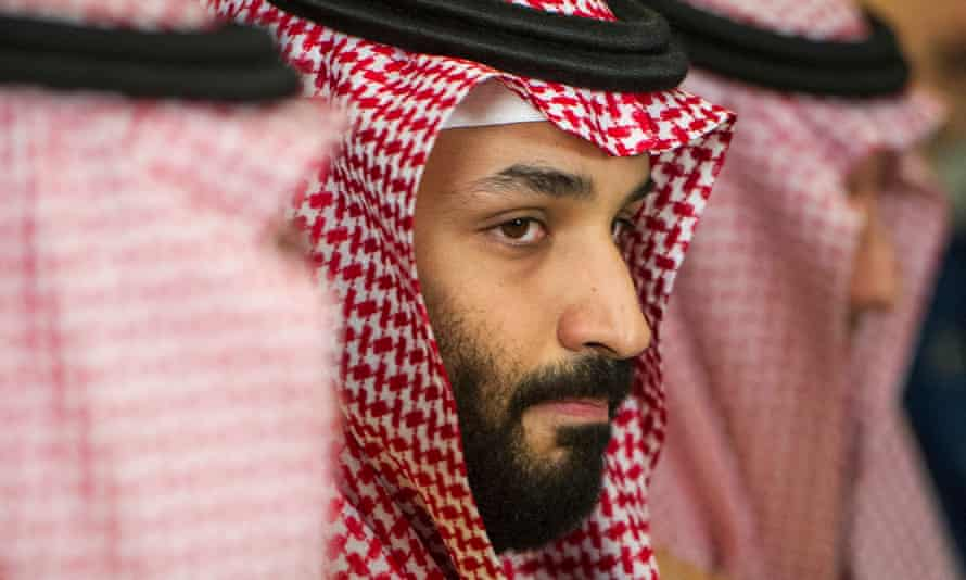 Mohammed bin Salman at a meeting with defense secretary James Mattis in March.