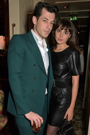 Mark Ronson and Genevieve Gaunt