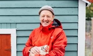David Ellis of the Two Whales Coffee Shop, Port Rexton, Newfoundland, Canada.