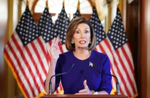 Nancy Pelosi announces a formal impeachment inquiry of President Donald Trump.