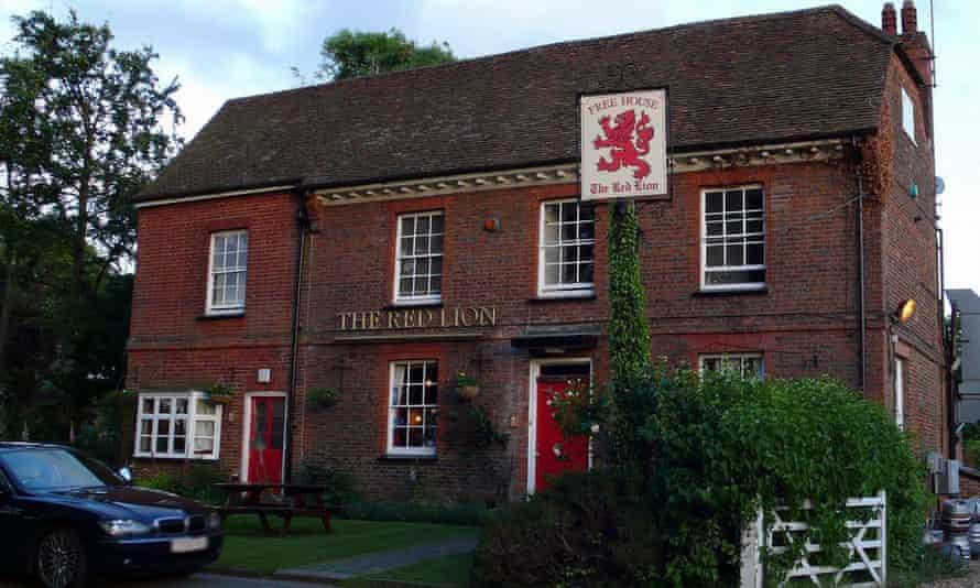 Red lion Preston, Herts