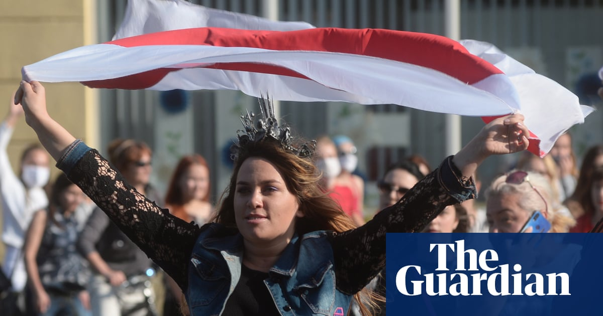 Belarus accuses western nations of sowing 'chaos and anarchy' – The Guardian