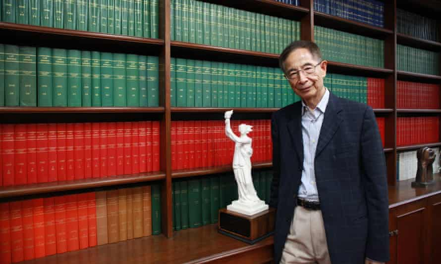 Martin Lee QC, a pro-democracy veteran, politician and barrister, in his Hong Kong chambers.