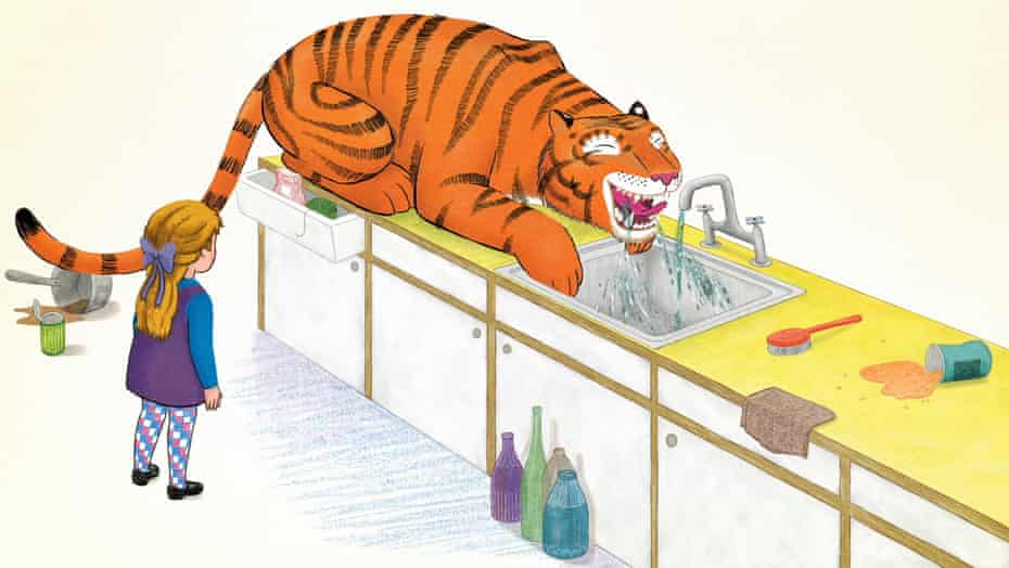 'He's a charmer' … The Tiger Who Came to Tea.
