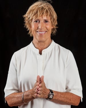 Diana Nyad photographed in London in advance of the UK release of her new book, Find A Way.