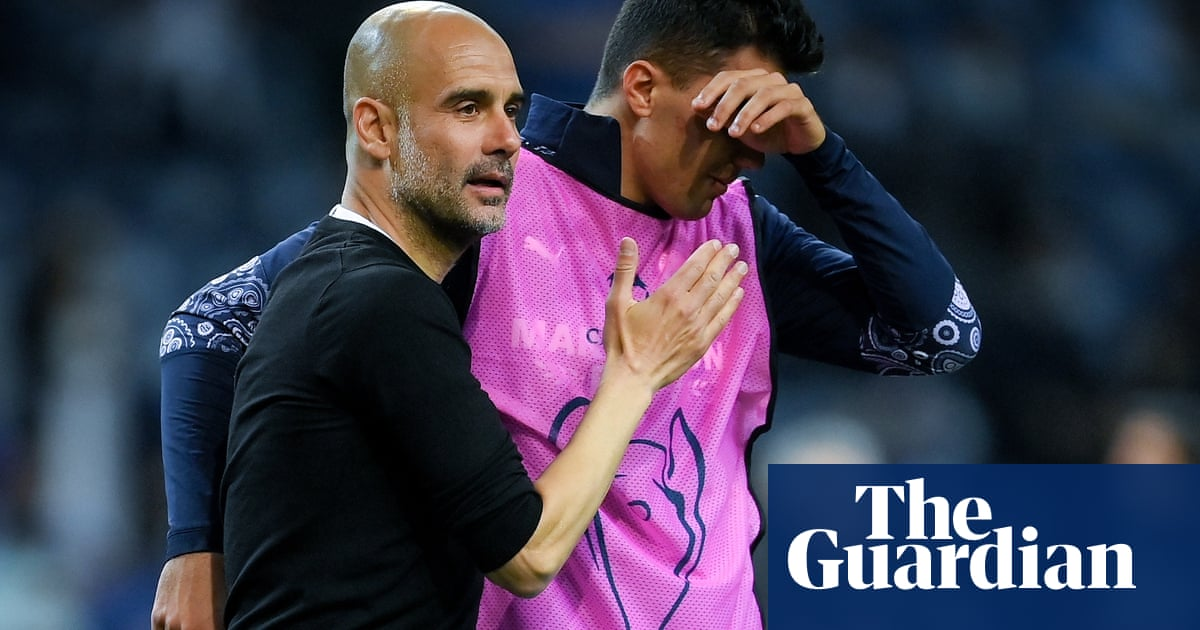 Guardiola believes Champions League final loss can drive Manchester City