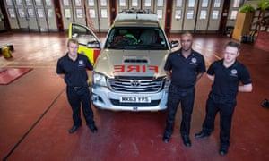 Firefighters in Wolverhampton