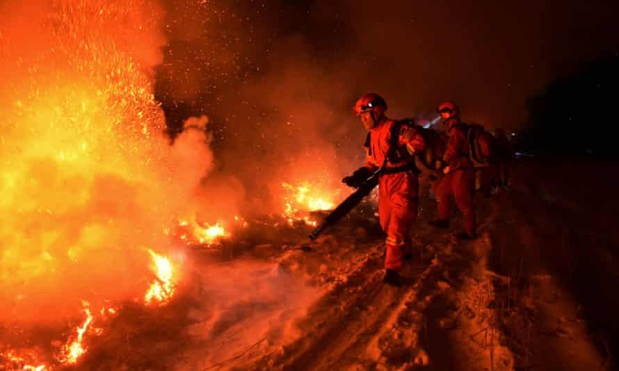 Hostile world: tackling forest fires in China.