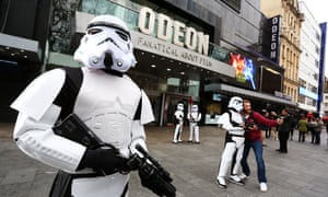 Star Wars: The Force Awakens in cinemas