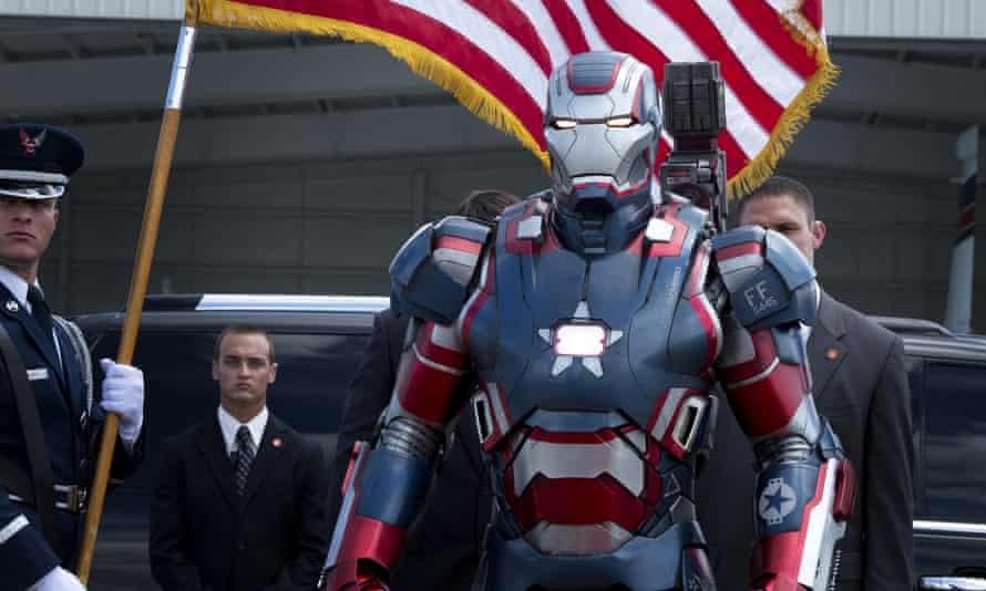 The director and co-writer of Iron Man 3 says the film was originally written to feature a female villain.