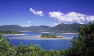 Shute Harbour and Conway national park, Whitsundays, Queensland, Australia