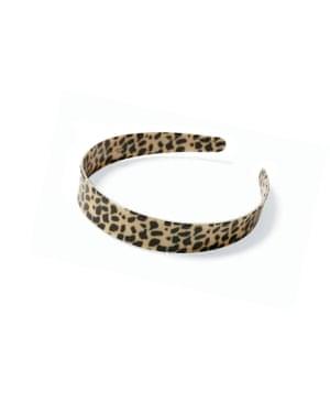 Leopard band, £6.50, missselfridge.com