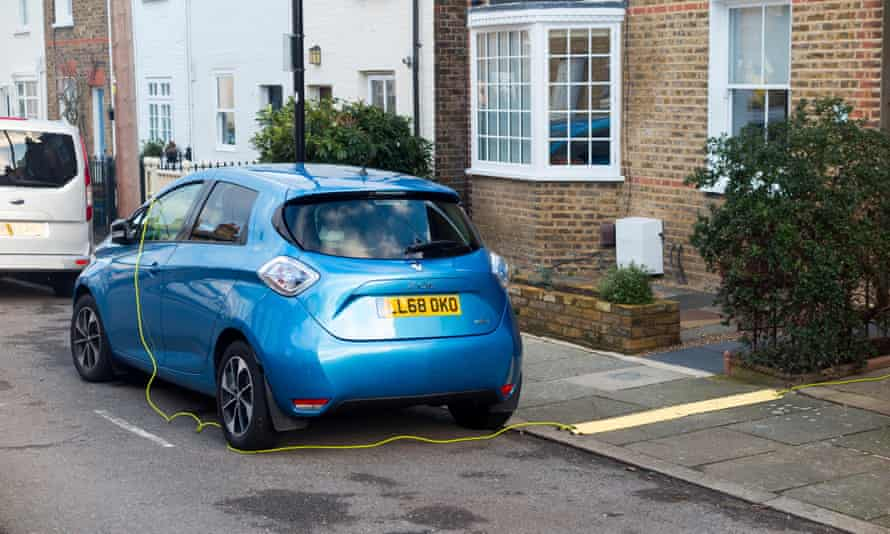 Have a new Renault Zoe electric car ... but getting a charging point installed at home was the problem.
