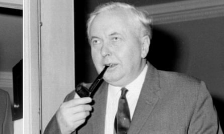 Harold Wilson in 1970, the year he called an early general election – and lost.