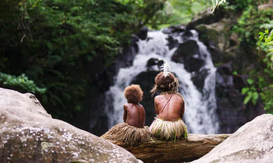 Lush location: a still from Tanna.