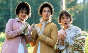 A scene from the film adaptation of Jane Austen's Persuasion