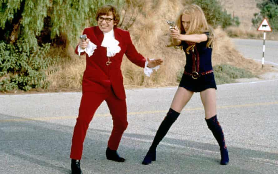 Spoof … Austin Powers: The Spy Who Shagged Me, 1999.