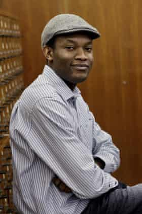 Author Fiston Mwanza Mujila.