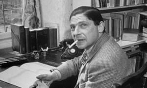 Arthur Koestler, the author of The Act of Creation.