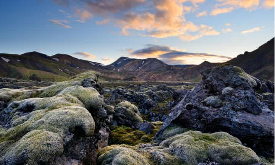 A view of Landmannalaugar in Iceland's highlands