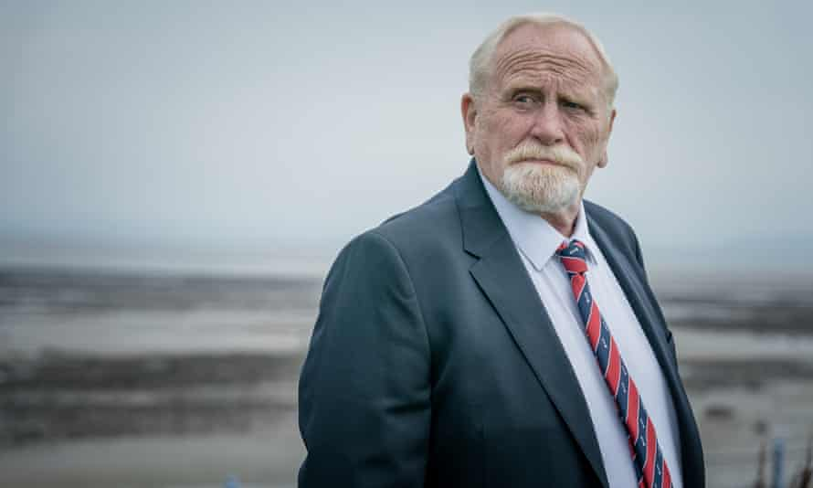 Intimidating … James Cosmo in The Bay.